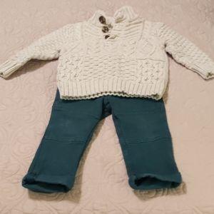 Infant boys two piece set